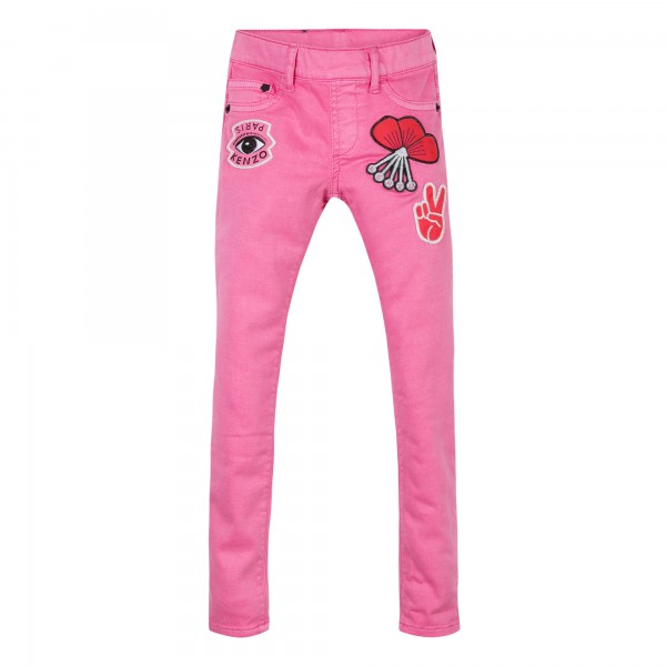 Kenzo Kids Coquillette Jeans pink