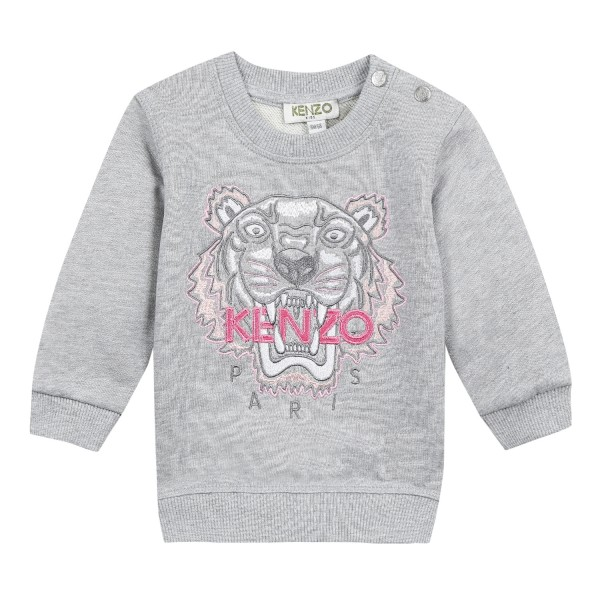 Kenzo Baby Sweatshirt Tiger marl grey
