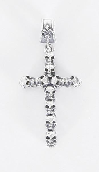 Elfcraft Anhänger Skulls + Cross