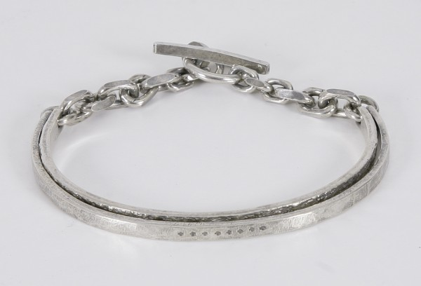 Tobias Wistisen Cross Double Bracelet