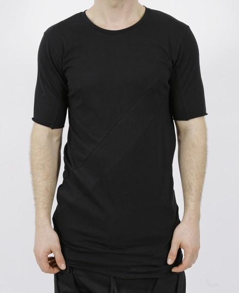 Army of me Spiral Rib T-Shirt Black