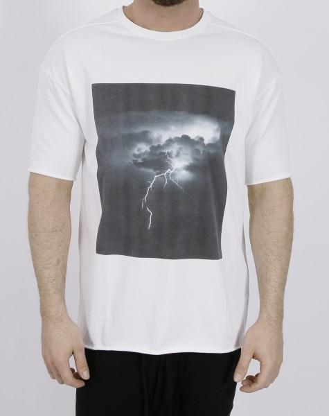 Thom Krom Print T-Shirt Off White