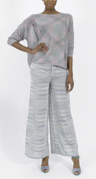 M Missoni Metallic Top