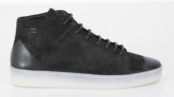 The Last Conspiracy Carson Waxed Suede Sneakers