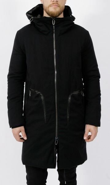 Daniele Basta Plutone Long Wool Coat