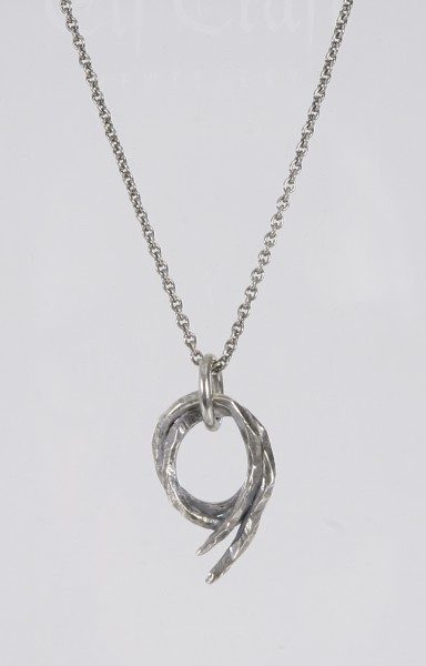 Tobias Wistisen Claw Ring Necklace