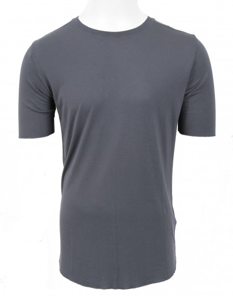 Thom Krom Silk T-Shirt Steel