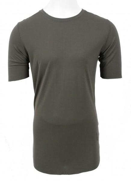 Thom Krom Silk T-Shirt Green