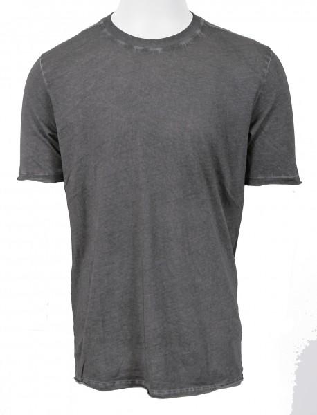 Thom Krom Black Oiled T- Shirt
