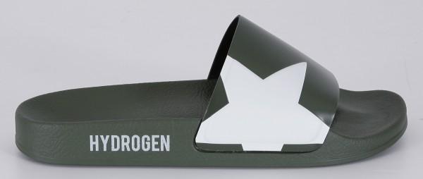 Hydrogen Badeschlappen Olive