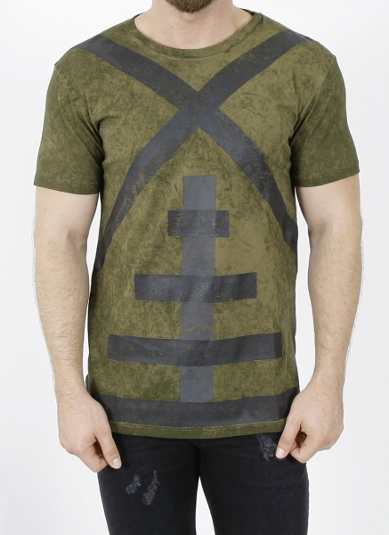 Newams Acid Camo Mill T-Shirt