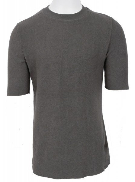 Thom Krom Fleece T-Shirt Taupe