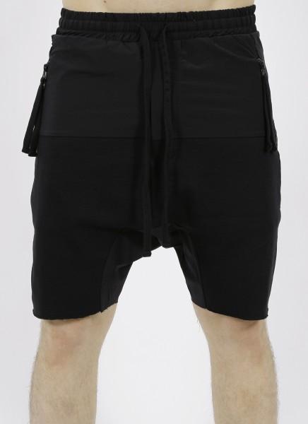Thom Krom Drop Crotch Shorts Black