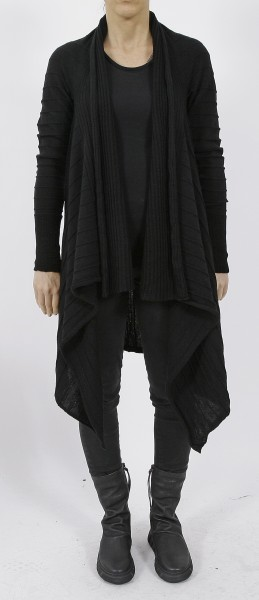 MD75 Strickjacke nero