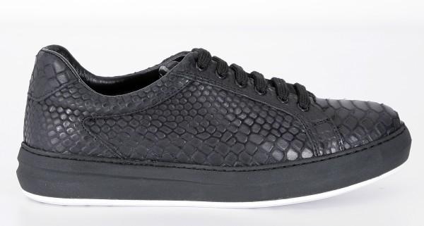Cultum Black Snake Low Sneakers