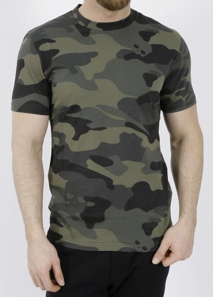 Hydrogen Camo Skull T-Shirt