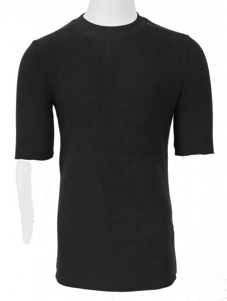 Thom Krom Fleece T-Shirt Black
