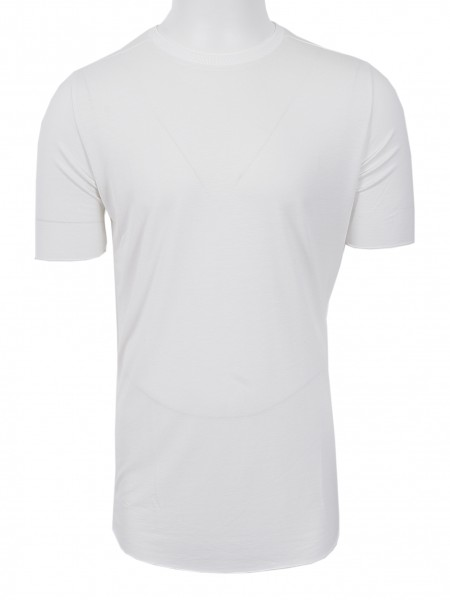 Thom Krom Silk T-Shirt Off White