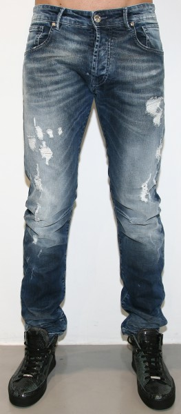 Pierre Balmain Destroyed Jeans