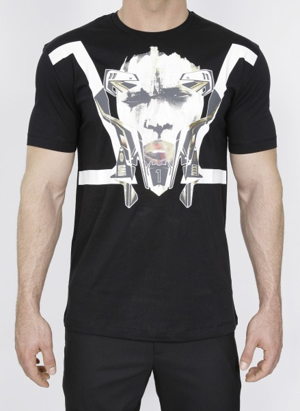 Mask Print T-Shirt