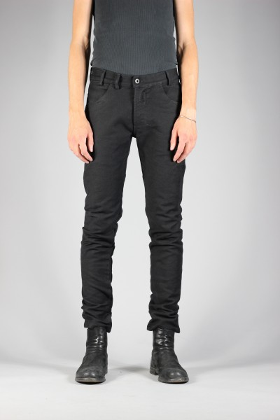 Versuchskind Tight Black Raw Wash Jeans Deutschleder