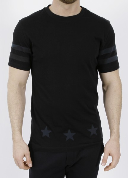 Hydrogen Hockey Camo T-Shirt Black