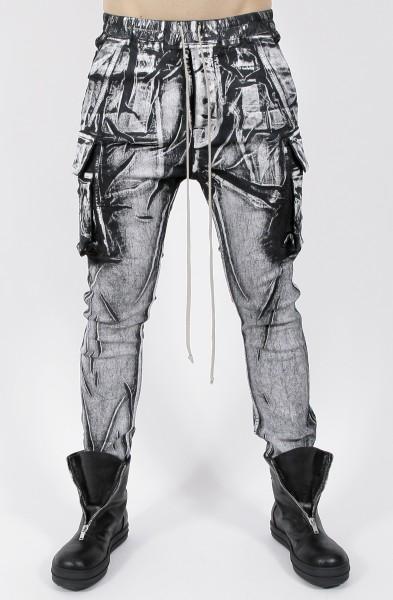 DRKSHDW by Rick Owens Mastodon Cut Jeans Milk/Black