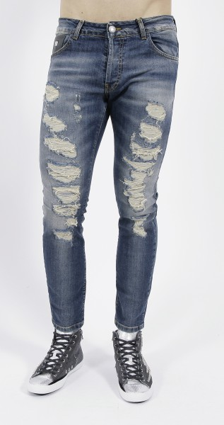 John Richmond Destroyed Jeans