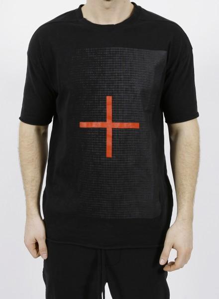 Thom Krom Cross T-Shirt Black