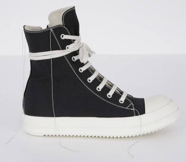 DRKSHDW by Rick Owens 2 Tone Stitch Sneakers
