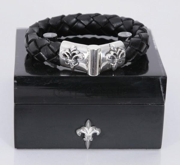 Elfcraft Armband Lilie Schwarz
