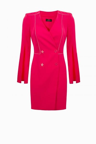 Elisabetta Franchi Blazer Kleid pink